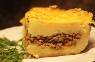 Картофельная запеканка с мясным фаршем (рецепт с пошаговыми фото)