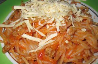 Спагетти в мультиварке (рецепт с пошаговыми фото)