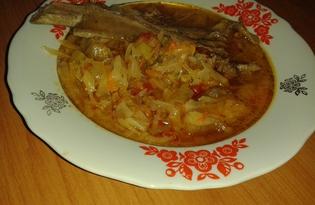 Настоящий украинский борщ (рецепт с пошаговыми фото)