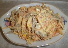 Нежный салат (рецепт с пошаговыми фото)