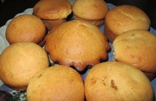 Кексы с вареной сгущенкой (рецепт с пошаговыми фото)