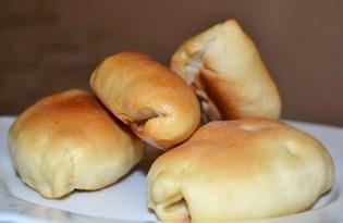 Пирожки с картошкой в духовке (рецепт с пошаговыми фото)