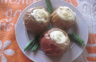 Яблочко с начинкой (рецепт с пошаговыми фото)