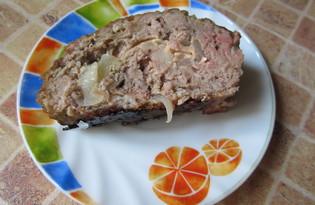 Мясной рулет с сыром (пошаговый фото рецепт)