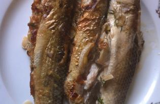 Пеленгас фаршированный луком (пошаговый фото рецепт)