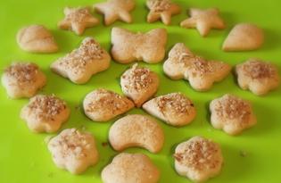 Домашнее печенье на сметане (пошаговый фото рецепт)