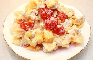 Итальянский салат с курицей (рецепт с пошаговыми фото)