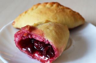 Пирожки с вишней на дрожжевом тесте (рецепт с пошаговыми фото)
