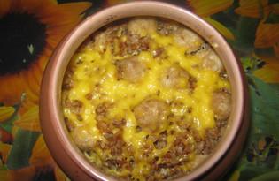 Гречка с фрикадельками (пошаговый фото рецепт)