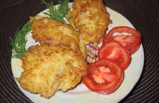 Рыба в картофельном кляре (пошаговый фото рецепт)