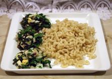 Салат из морской капусты с грибами (пошаговый фото рецепт)