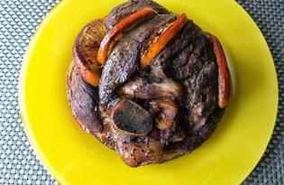 Свинина с апельсином (пошаговый фото рецепт)