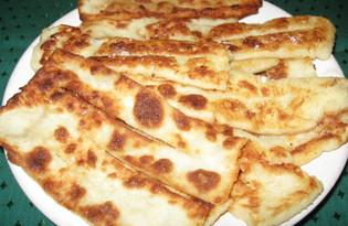 Хворост из картофельного пюре (пошаговый фото рецепт)