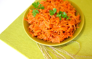 Тушеная капуста с морковью и луком (пошаговый фото рецепт)