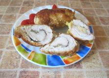 Куриные рулеты с сыром (пошаговый фото рецепт)