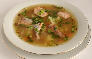 Суп из кеты (пошаговый фото рецепт)