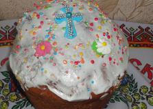 Пасхальный кулич с цукатами (пошаговый фото рецепт)