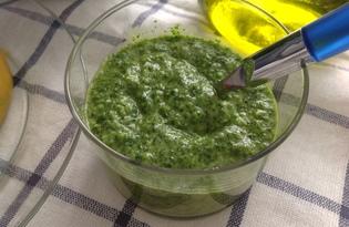 Зеленый соус (пошаговый фото рецепт)