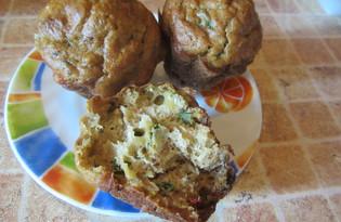 Кексы с сыром (пошаговый фото рецепт)