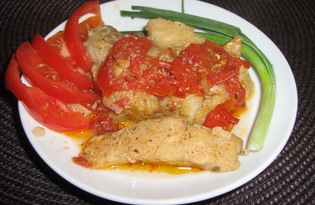 Пеленгас в духовке (пошаговый фото рецепт)