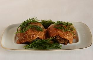 Тефтели в томатно-сметанном соусе (пошаговый фото рецепт)