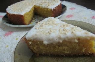 Тыквенный кекс в мультиварке (пошаговый фото рецепт)