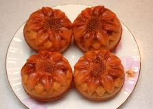 Кексы из кукурузной крупы с вареной сгущенкой (рецепт с пошаговыми фото)