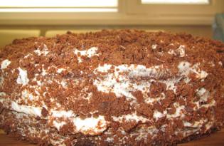 Пирог с горьким шоколадом (пошаговый фото рецепт)