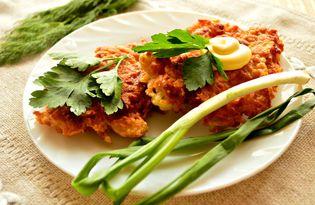 Драники картофельные со свежей зеленью (пошаговый фото рецепт)