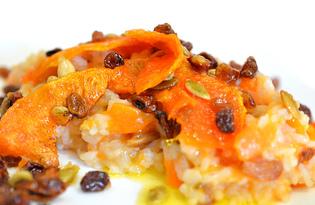 Рис с тыквой (пошаговый фото рецепт)