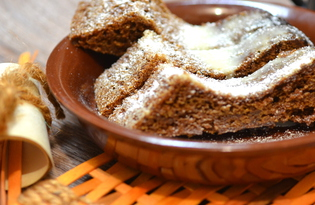 Медовый пирог (пошаговый фото рецепт)