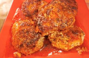 Тефтели в томатной подливе (пошаговый фото рецепт)