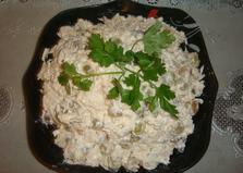 Салат с мясом и виноградом (пошаговый фото рецепт)