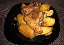 Ароматные свиные ребрышки (пошаговый фото рецепт)