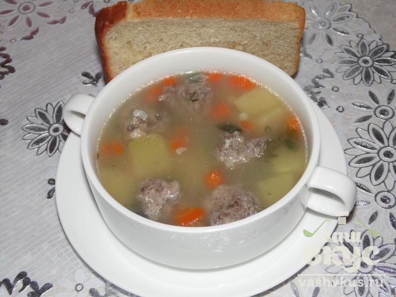суп с фрикадельками пошаговый рецепт в мультиварке видео