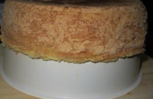 Бисквит на кипятке в мультиварке (пошаговый фото рецепт)