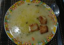 Супчик с сыром в мультиварке Vitek (пошаговый фото рецепт)