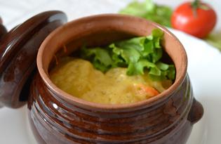 Картошка под сыром в горшочках (пошаговый фото рецепт)