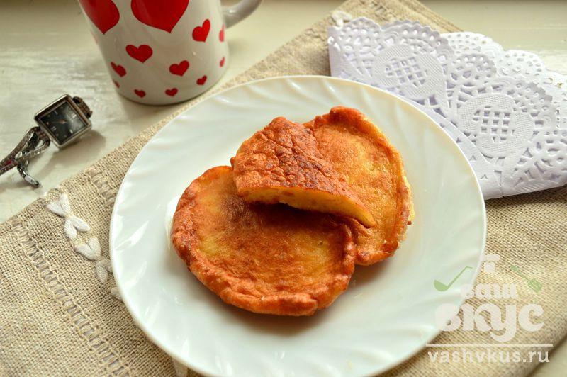 Фото рецепт оладьев на майонезе