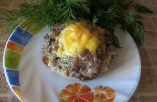 Гнезда из мясного фарша (пошаговый фото рецепт)