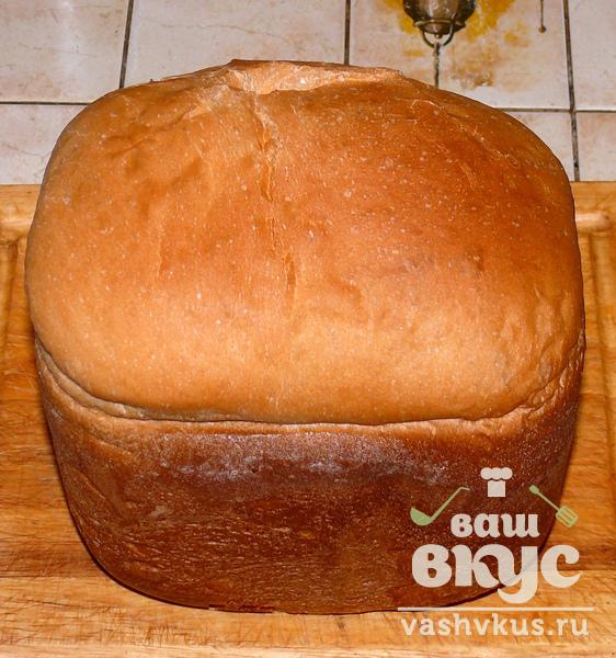 Хлеб без дрожжей в хлебопечке простой