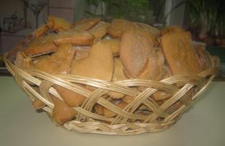 Печенье медовое (пошаговый фото рецепт)