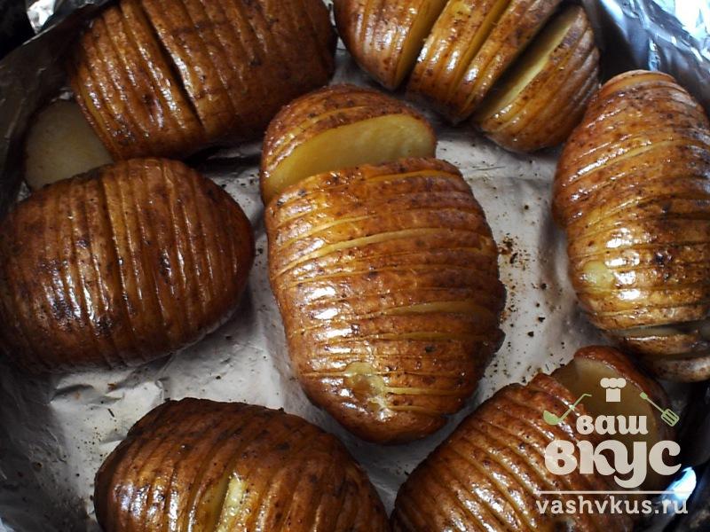 Картошка печеная в духовке в кожуре рецепт пошагово 34