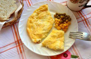 Сырный омлет в духовке (пошаговый фото рецепт)