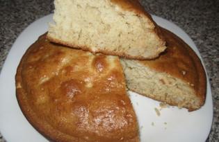Пирог с орехами и корицей (пошаговый фото рецепт)