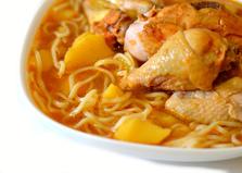 Куриный томатный суп с лапшой (пошаговый фото рецепт)
