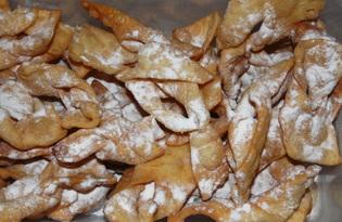 Хрустики на коньяке (пошаговый фото рецепт)
