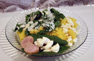 Бранч с кукурузной кашей (пошаговый фото рецепт)