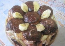 Пряничный торт с зефиром (пошаговый фото рецепт)