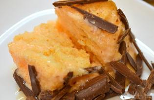 Сливочно - апельсиновый десерт (пошаговый фото рецепт)
